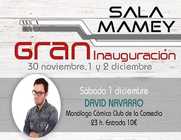 Monólogo David Navarro (El Club de la Comedia)
