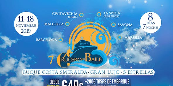 7th Crucero del Baile (Autumn Edition) - from 11 to 18 November 2019