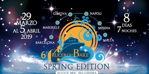 6º Crucero del Baile (Edición Primavera) - del 29 de Marzo al 5 de Abril 2019