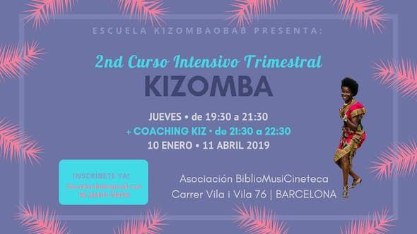 Thursday • 2nd Trimestral Intensive Kizomba Course