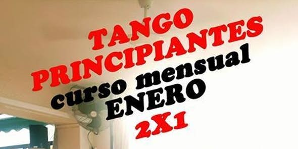 2x1 Tango Principiantes