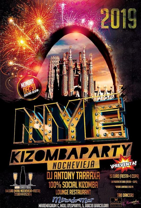 (CANCELLED) Kizomba Barcelona Nochevieja New Year's Eve 2018/9