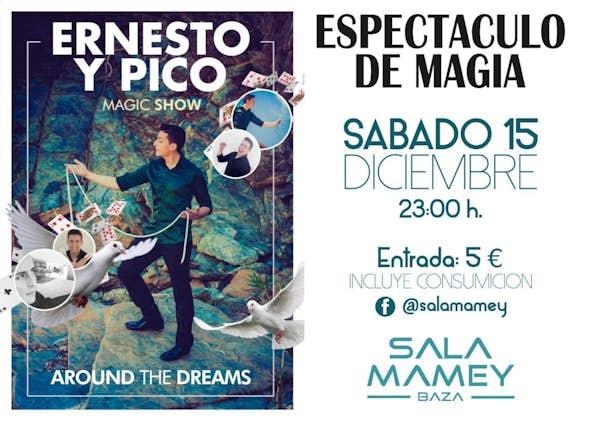 Espectáculo de magia con Ernesto y Pico