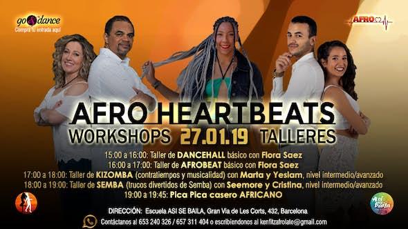 Afro Heartbeats Talleres - 27.01.2019