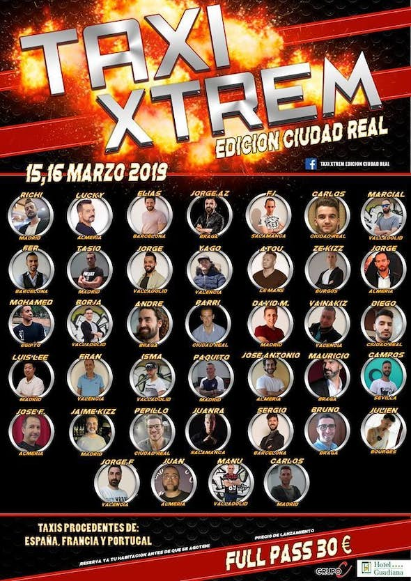 Taxi Xtrem Ciudad Real Edition 15th, 16th, 17th of March 2019 (2nd Edition)