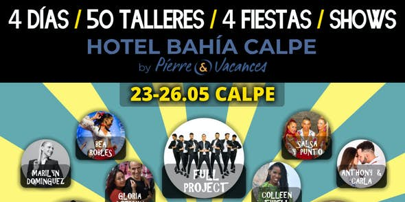 10ª Jornada Salsera en Calpe 2019