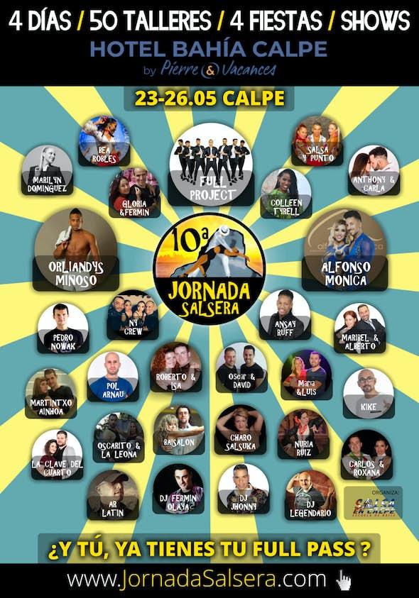 10th Jornada Salsera in Calpe 2019