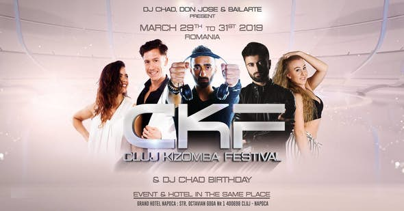 Cluj Kizomba Festival 2019 (4ª Edición) - Romania