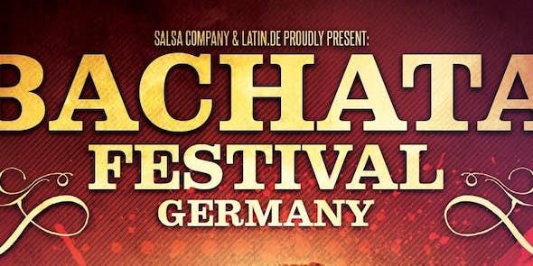 Bachata Festival Germany / Stuttgart - April 11-15, 2019