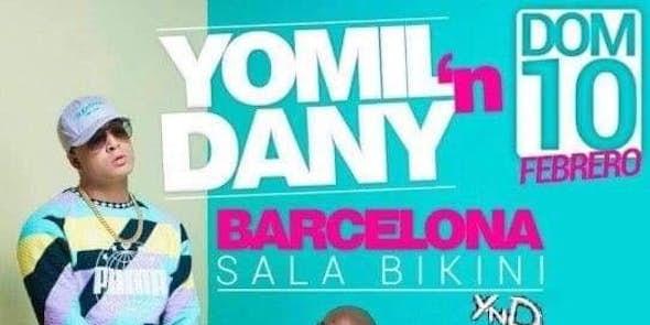 Concierto de Yomil'n Dany en Sala Bikini Barcelona - 10 de Febrero de 2019