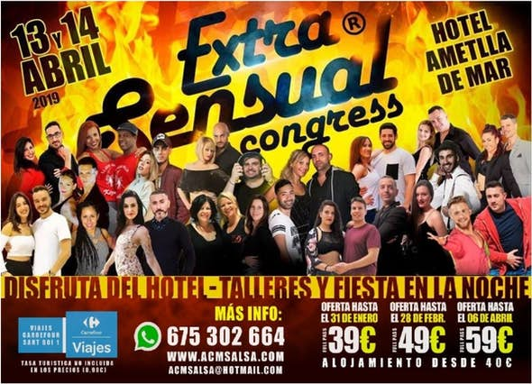 ExtraSensual - Abril 2019