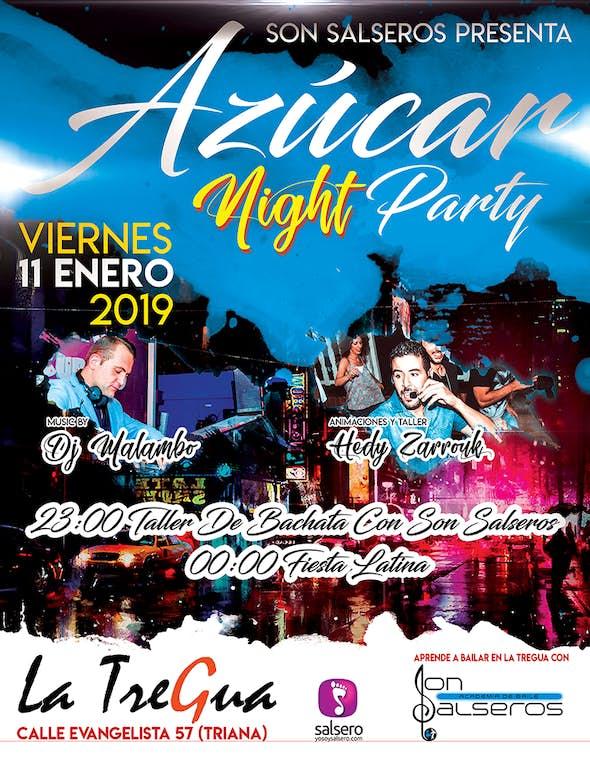 Azúcar Nigh Party in La Tregua (Sevilla)