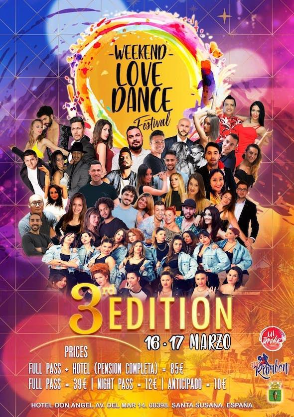 Weekend Love Dance Festival - March 2019