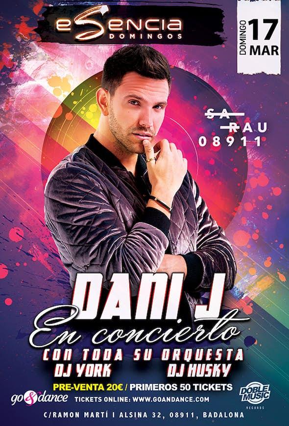 Dani J in Concert by Esencia in Sarau - Sunday 17th March