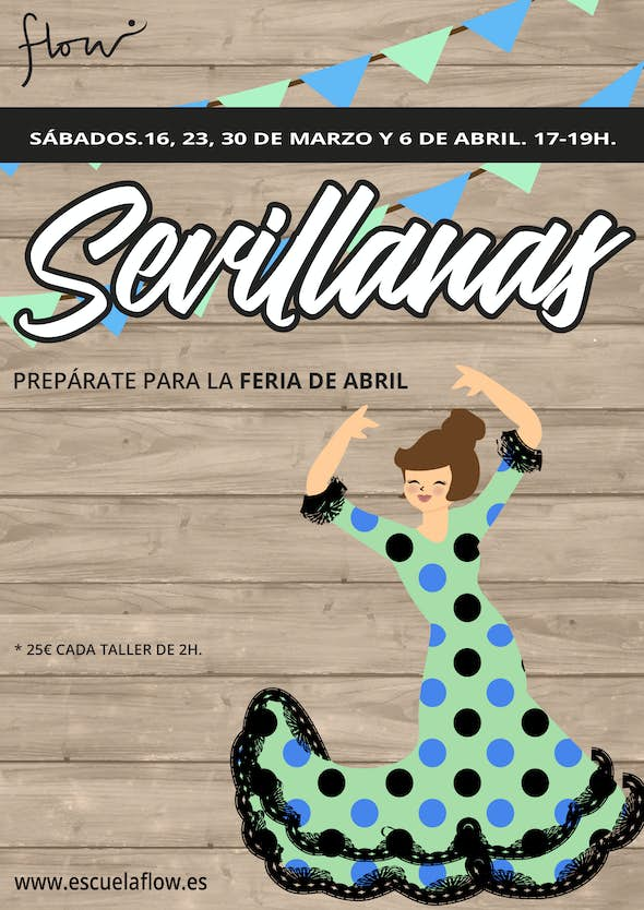 Sevillanas Intensive Course in Flow (Madrid)