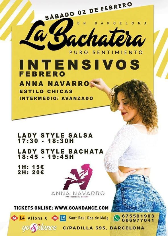 Intensive Lady Style by Anna Navarro - Saturday 2nd Feb. 2019
