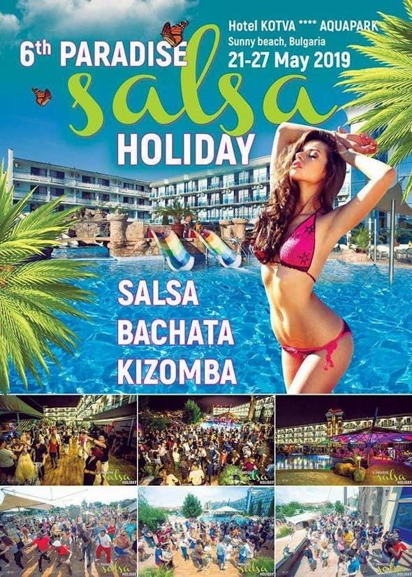 Paradise Salsa Holiday 24 - 26 Mayo 2019 (6ª Edición)