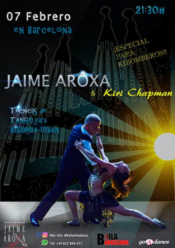 Jaime Arôxa & Kiri Chapman en Barcelona