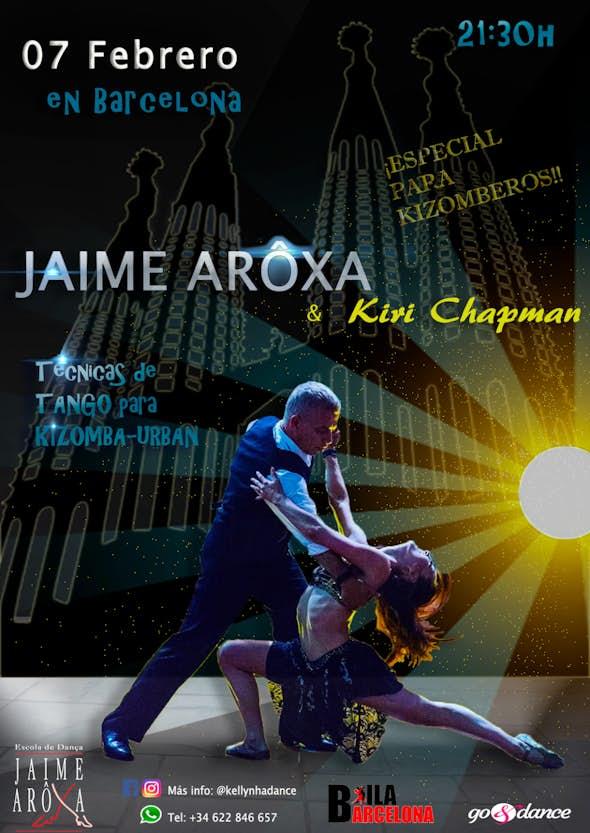 Jaime Arôxa y Kiri Chapman en Barcelona