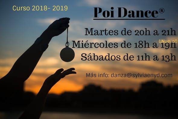Poi Dance®! Dance with cariocas (all levels)