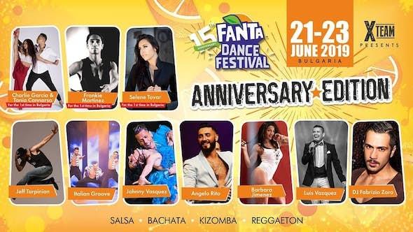 Fanta Dance Festival 21-23 June 2019 (15th Edition)