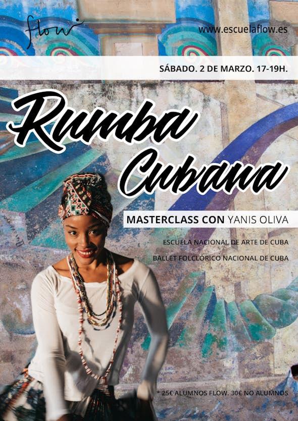 Masterclass de Rumba Cubana con Yanis Oliva