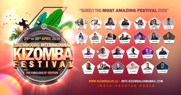 Luxembourg International Kizomba Festival 2019 (6ª Edición)