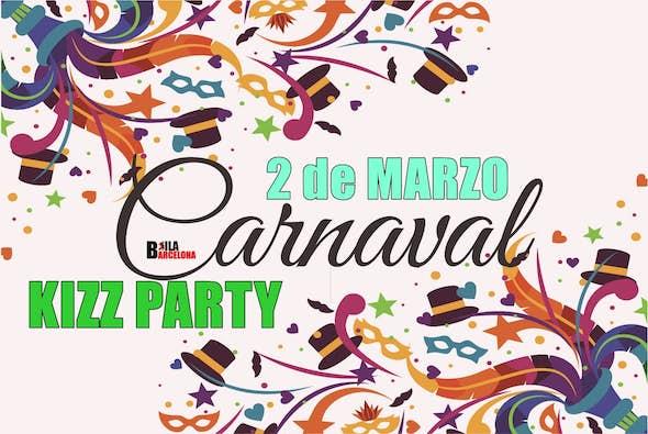 Carnival Kizomba Party - 2th March - Bailbarcelona