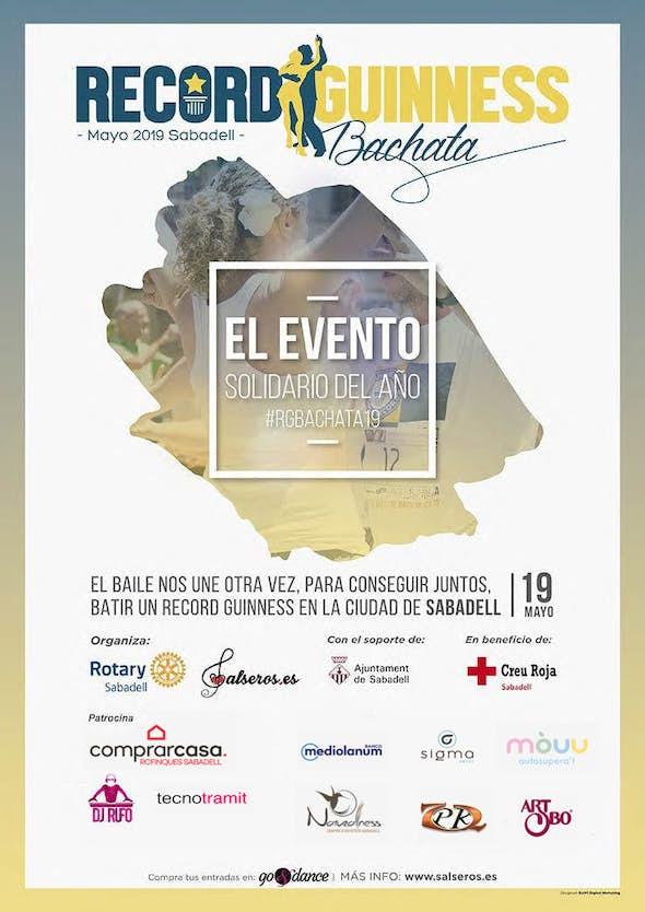 Record Guinness Bachata 2019 - 19 Mayo en Sabadell, Barcelona