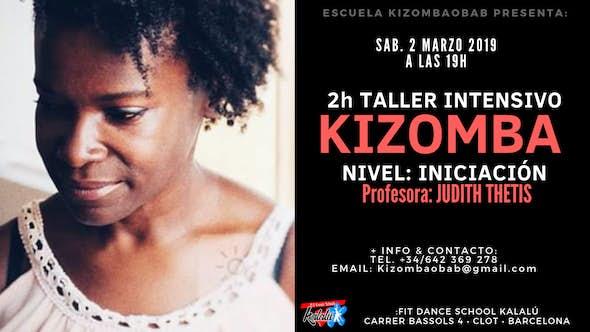 2h Intensivo Kizomba • Nivel Iniciación• 2 Marzo • Barcelona