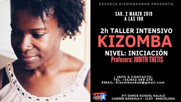 2h Kizomba Workshop • Beginner Level • 2 March • Barcelona