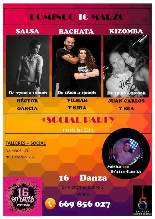 Talleres y baile social SBK en 16enDanza (Torrelavega, Cantabria)