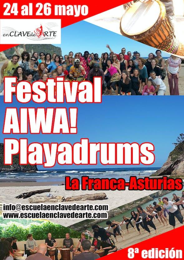 Festival Aiwa! Playadrums 2019 (8ª edición)