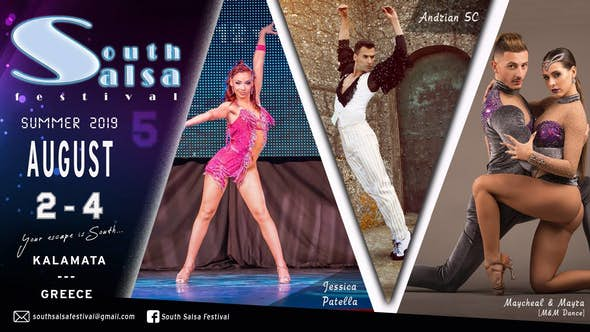 South Salsa Festival 2019 - Grecia (5ª Edición)