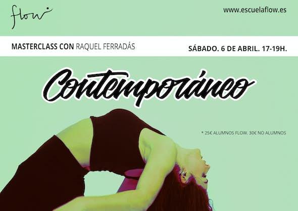 Masterclass Contemporáneo con Raquel Ferradás