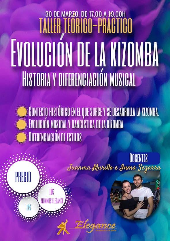 Taller: Evolución de la Kizomba. Historia y diferenciación musical - Academia Elegance (Alicante)