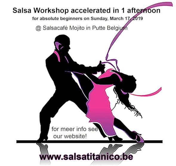 Salsa Workshop for beginners in Belgium (March 17, 2019)