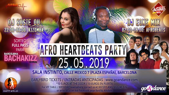 Afro Heartbeats Party - 25.05.2019