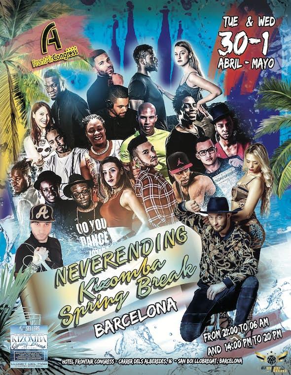 Neverending Spring Break Kizomba 30th April - 1st May 2019