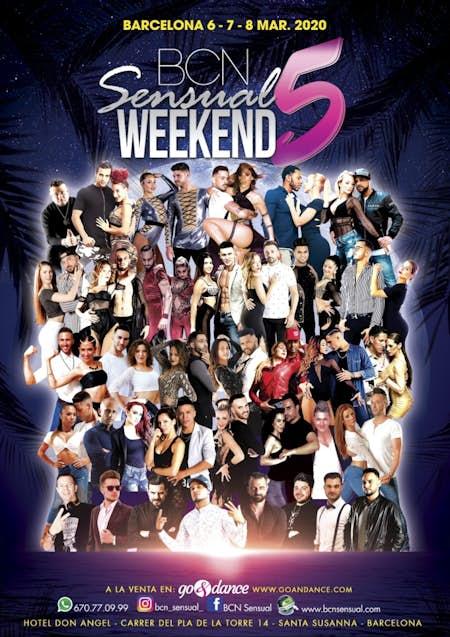 BCN Sensual Weekend 5 - Marzo 2020 (5ª Edición)