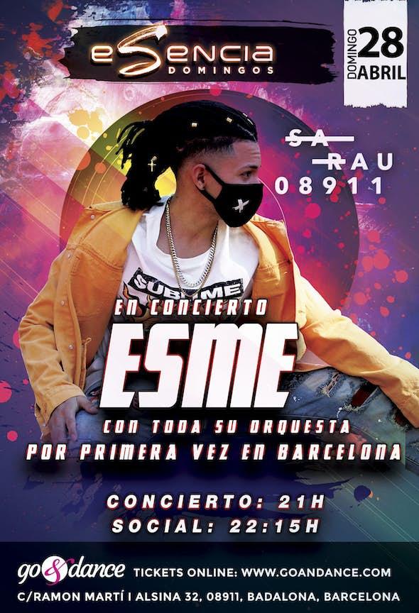 ESME en Concierto - 28 de Abril de 2019 en Barcelona