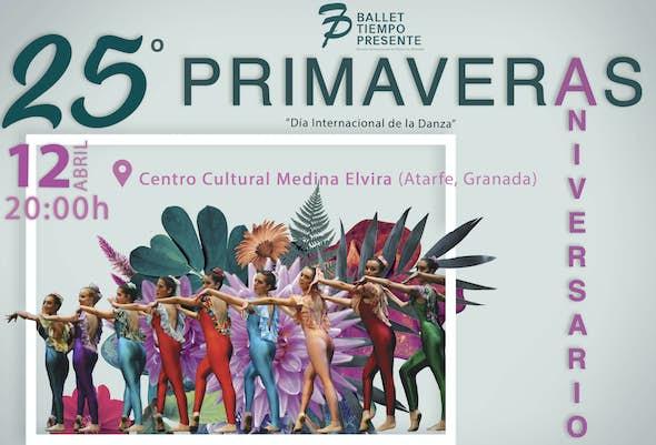 "Ballet Show ""25 Springs"" - Atarfe, Granada"