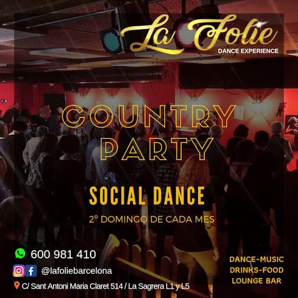 Country Party Social Dance - La Folie (Barcelona)