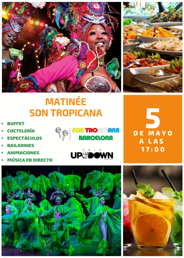 Matinée Son Tropicana - May 5, 2019 in Barcelona