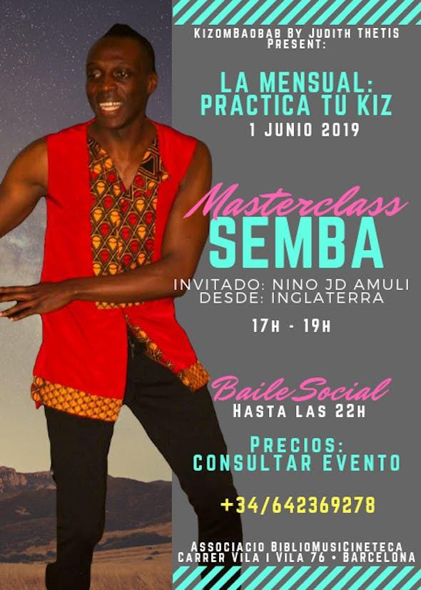 Masterclass • SEMBA • with Nino Jd Amuli • from Inglaterra