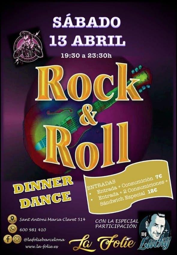 Rock & Roll Party! Dinner Dance, Dj Lucky, Premio Elegancia, etc (Sabado 13 Abril)