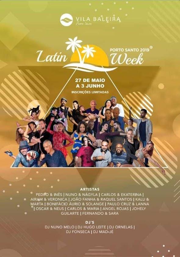 Porto Santo Latin Week 2019 (5ª Edición)