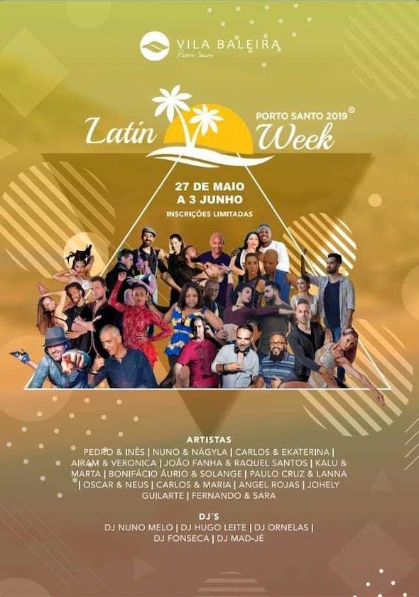Porto Santo Latin Week 2019 (5th Edition)