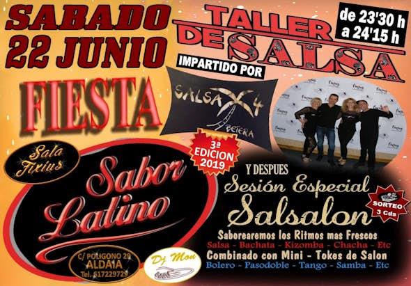 Latin Taste Party (3rd Edition) at Sala Fixius