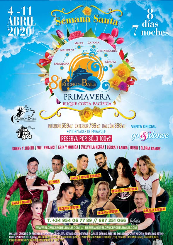 7th Crucero del Baile (Spring Edition) - from 4 to 11 April 2020